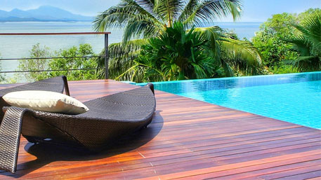 Decks para piscina